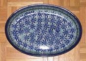 Czech ceramic platter