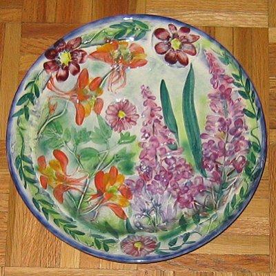 Sydney Bishop plate, Homer, Alaska
