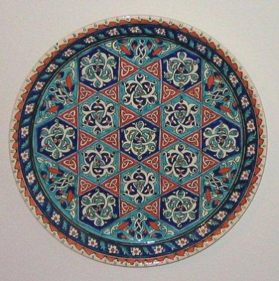 Turkish plate, Iznik