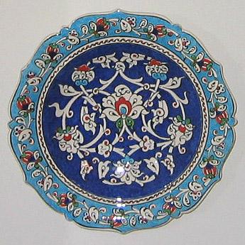 small Turkish bowl, Iznik