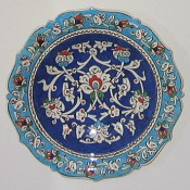 small Turkish bowl, Iznik
