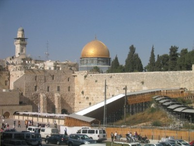 view of the Temple Mount