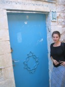 synagogue door