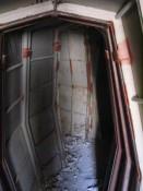bunker interior passageways