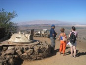 overlooking Syria and Lebanon