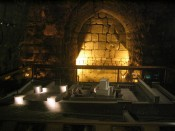 inside the Western Wall tunnels