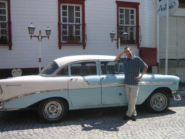 Hakan's 1964 Chevy Bel Air.  Is this İstanbul or Detriot?