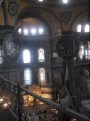inside Ayasofia (Hagia Sofia)