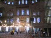 the Blue Mosque, in daylight