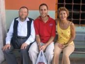 """our amazing volunteer """"tour guide,"""" Ahmet"""