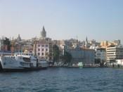 ferry ride from Üsküdar to Karaköy