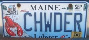 You know you're in Maine when...