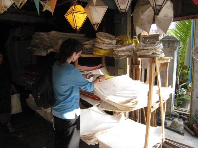 handmade paper shop