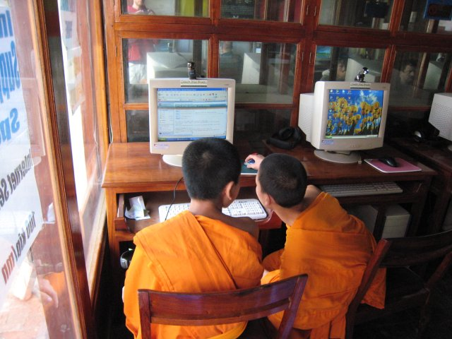 monks on the Internet