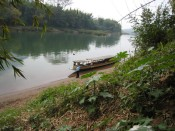 rest stop on the Nam Ou river