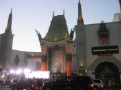 the premiere of Gridron Gang at Grauman's Chinese Theater