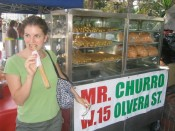 don't mess with Mr. Churro.