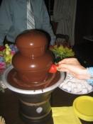 """""""Who put the dip In the dip da dip da dip?  Who put the ram in the rama-lama-chocolate fountain?"""""""