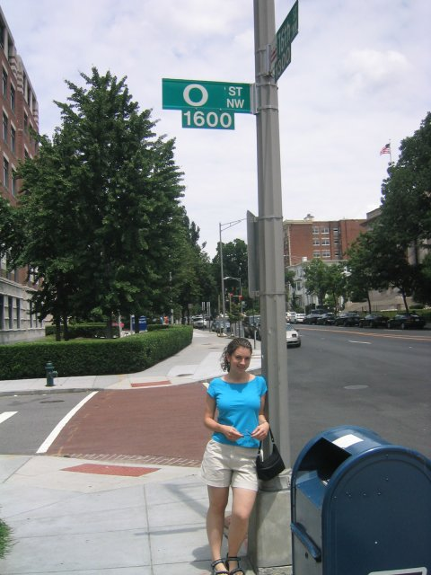 i took her all the way to O street