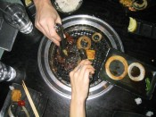 Gyu-Kaku Japanese BBQ.  (fyi, they're very good about letting you return food that you don't like.)
