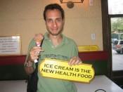 ICE CREAM IS THE NEW HEALTH FOOD