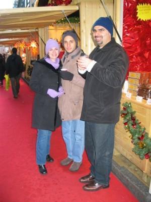 vin chaud at a Christmas market