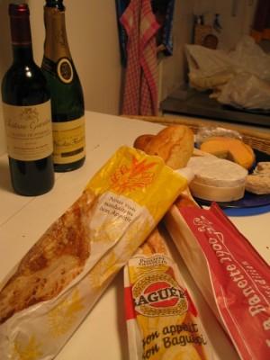 our baguette tasting