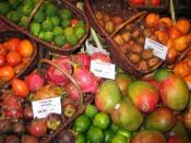 mangosteens, rambutans, et al.