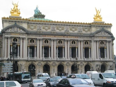 Palais Garnier - the Paris Opera House
