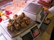 white truffles; this batch is worth about $3500.
