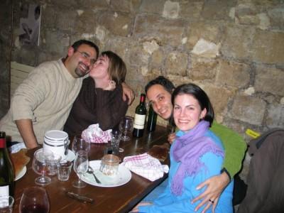 dinner at Chez Michel