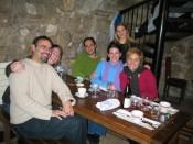 new friends at Chez Michel