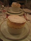 Grand Marnier souffle at La Regalade