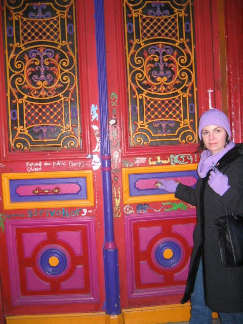 one of the gorgeous doors of paris