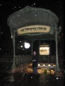 the Metro station at Abessess