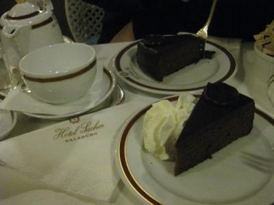 Sacher torte, feh.