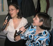 Highlight for Album: Sing for Sara - Karaoke Night
