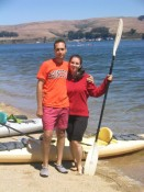 kayaking on Tomales Bay
