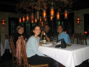 before the yummy eight-course assault at Manka's