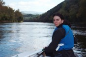canoeing the shenandoah river.  watch out for the rivercows.