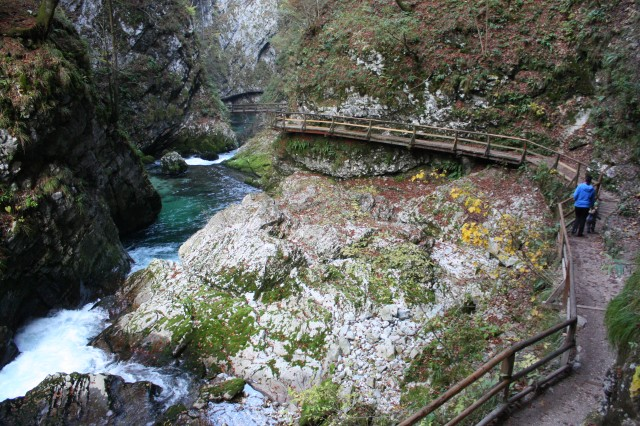 Vintgar Gorge, near Lake Bled