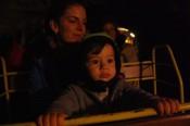 Train through Postojna cave