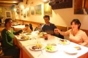 Dinner at Skerlj farm, Tomaj