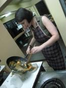 preparing Penang curry