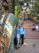 on the way up to Doi Suthep
