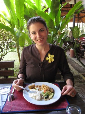 lunch at the orchid farm