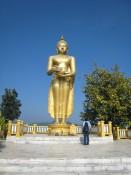 Wat Thaton's standing Buddha