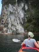 final kayaking