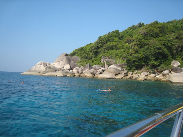 snorkeling the Similan Islands
