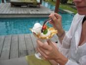 highlight: coconut ice cream
